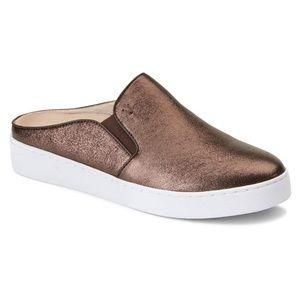 Vionic Dakota Mule Slip On Sneakers Bronze